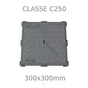 Chiusino in ghisa, classe C250, 300 mm
