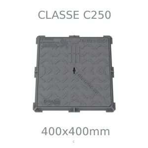 Chiusino in ghisa, classe C250, 400 mm