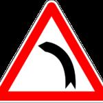 Curva sinistra