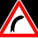 Curva destra