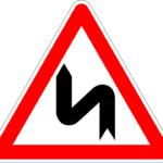 doppia curva sinistra