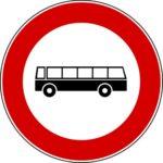 Transito autobus vietato