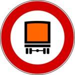 Transito merci pericolose vietato
