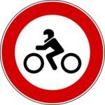 Transito motocicli vietato