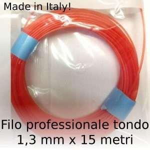 Filo decespugliatore professionale Maxi-Line tondo 1,3 mm x 15 m