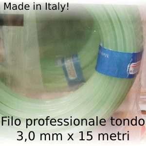 Filo decespugliatore professionale Maxi-Line tondo 3 mm x 15 m