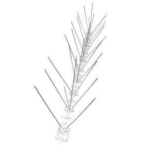 Pettine antinido Aghi in inox, base in plastica 50x80 cm