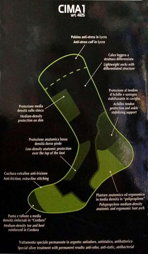 CIMA1 - Calza bassa tecnica da escursionismo
