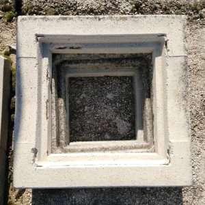 Anello aggiuntivo pozzetto in cemento