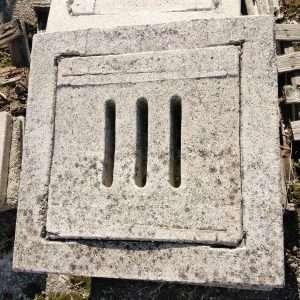 Coperchio per pozzetto in cemento