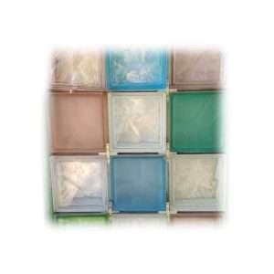 Vetro mattone colorato 19x19